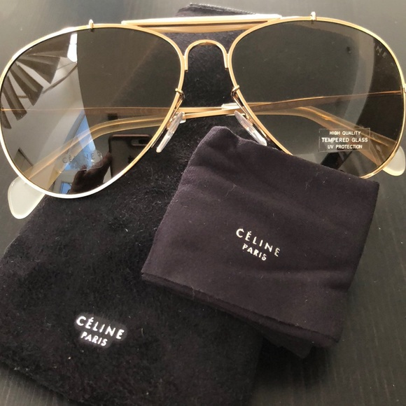 40a28027ab8 Céline sunglasses with tags and case